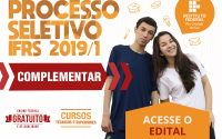 Processo Seletivo 2019/1 Complementar